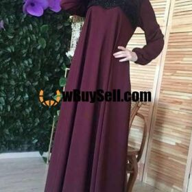 FOR SALE DESIGNER ABAYA.