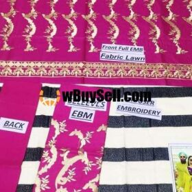 FOR SALE MARIA B EMBROIDERY WORK CLOTHES