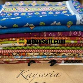 FOR SALE KAYSERIA SUB BRAND MAGIC IN PRINT DOBBY LAWN COLLECTION 2020.