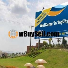 PLOT FOR SALE AT TOP CITY NEW AIRPORT ISLAMABAD