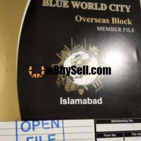 BLUE WORLD CITY 10 MARLA OVERSEAS