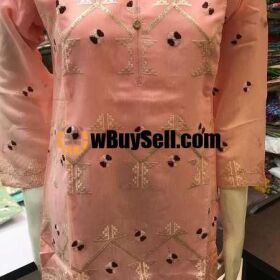 FOR SALE HEAVY FRONT EMBROIDED PLAIN BACK