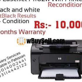 HP LASERJET P1102W WIFI PRINTER RECONDITION