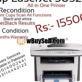 HP LASERJET MFP1522 PRINTER RECONDITION