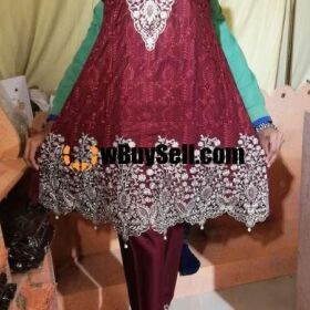 FOR SALE LINEN FABRIC FROCKS