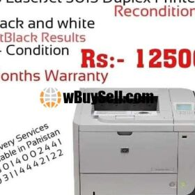 HP LASERJET P3015 PRINTER RECONDITION