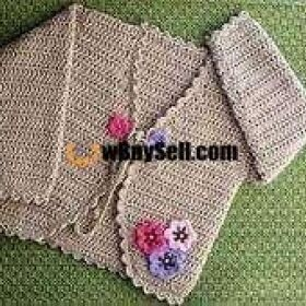 FOR SALE HAND MADE CORCHET BABY SWEETER