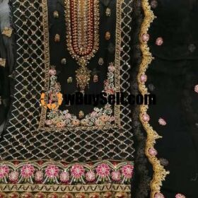 FOR SALE  HAND MADE BOUTIQUE STYLE HAND MADE CUTDANA EMBROIDERY WORK SUITS