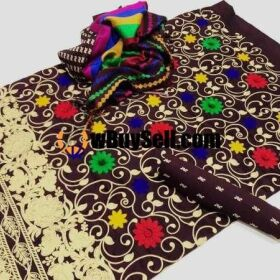 FOR SALE WINTER COLLECTION BAGHBAN FULL JAAL EMBROIDERY DRESSES