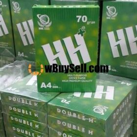 A4 70 GMS IMPORTED PHOTOCOPIER PAPER DOUBLE H BRAND