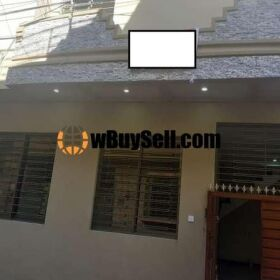 2.5 MARLA DOUBLE STORY HOUSE FOR URGENT SALE AT FAISAL COLONY RAWALPINDI
