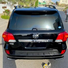 Toyota Land Cruiser ZX V8 2014 Black Beauty  For Sale