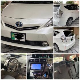Toyota Prius Alpha Model 2014 For Sale