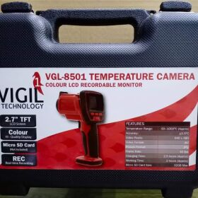 TEMPERATURE CAMERA GUN Double Laser Infrared Thermal Gun with LCD, Wifi for Sale