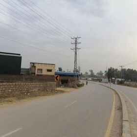 11 Marla Corner Commercial Plot for Sale in Main Adyala Road Rawalpindi