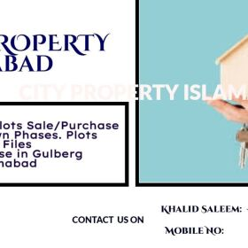 Plot for Sale in Ghori Town(Phase 3,4,5,7 ) and Files for Sale/ Purchase in Gulberg Greens, Islamabad