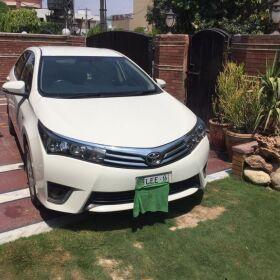 Toyota GLI 2016 for Urgent Sale