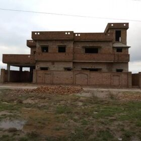 13 Marla House for Sale (Structure) in New Chakwal City Near Mureed Air Base Chakwal