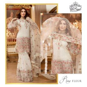 Emb Royal Chiffon & Net Collection 2017 for SALE