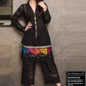 Design Zara Shahjahan 2Pc Lawn From Emb Chikankari for SALE