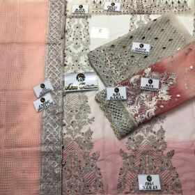 AISHA IMRAN BRIDES BODY FULL EMBROIDERED  WITH MIROR HANDWORK FOR SALE