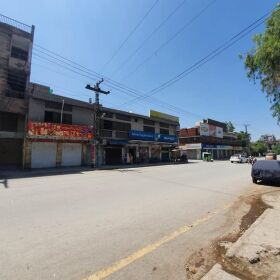 House and Market for SALE in Main Gulbahar Road Peshawar