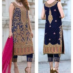 BRAND AISHA IMRAN BLACK BLUE BRIDLE DRESS FOR SALE