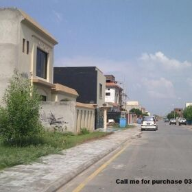 Media Town Plot for sale in Block B Ideal Location of Park PWD o9 NPF Bahria Town