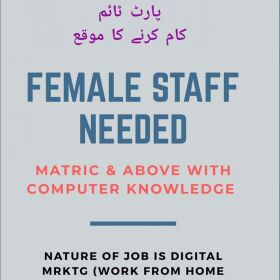Urgent Required Part Time Jobs Home Based