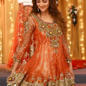 Kashee Bridal Net Embroidery Suit With Net Embroidery Dupatta for Sale
