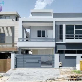 Luxurious Brand New 10 Marla Double Story House for Sale at Bahria town Phase 8 Rawalpindi.