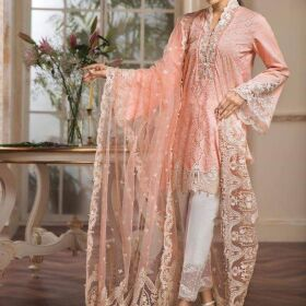 Anaya Lawn Embroidery Suit Net Embroidery Duppata Master Replica for Sale