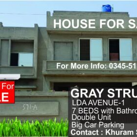 Grey Structure house