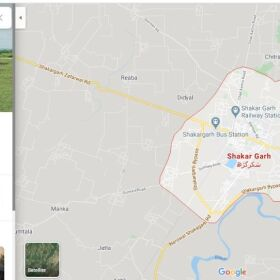 Agricultural Land For sale in Shakar Garh on very low cost 216 Kanal