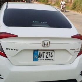 HONDA CIVIC AUTOMATIC VTI 2019 FOR SALE