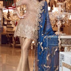 EMBROIDERED MESOORI DRESS EMBROIDERED DUPATTA FOR SALE