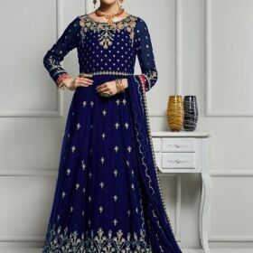 Chiffon Embroidery Indian style maxi now available master replica Same original for Sale