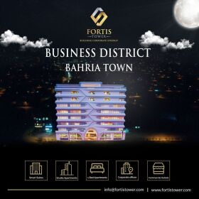 FORTIS Tower  SHOP & OFFICES & APARTMENTS BOOKING AVAILABLE ON  EASY 3 Year INSTALLMENT .