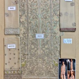 Flossie Now available design no 1396.  High Quality Chiffon embroidered front for Sale