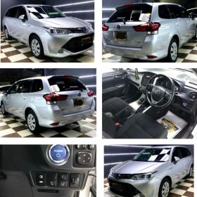 TOYOTA COROLLA FIELDER HYBRID G 1.5 2015 FOR SALE