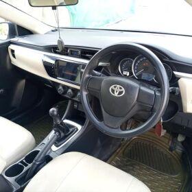 Toyota Corolla Xli 2016 Manual White In Outclass 100% Original Geniune Condition for Sale