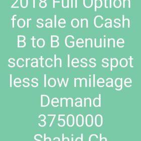 Honda Civic UG 2018 Full Option for Sale